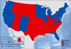 2012 presidential map.
