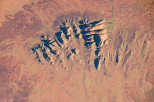 NASA Satellite Image of Kata Tjuta.