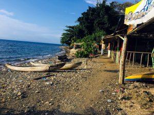 Coastal photograph at Petit Guave, Haiti.