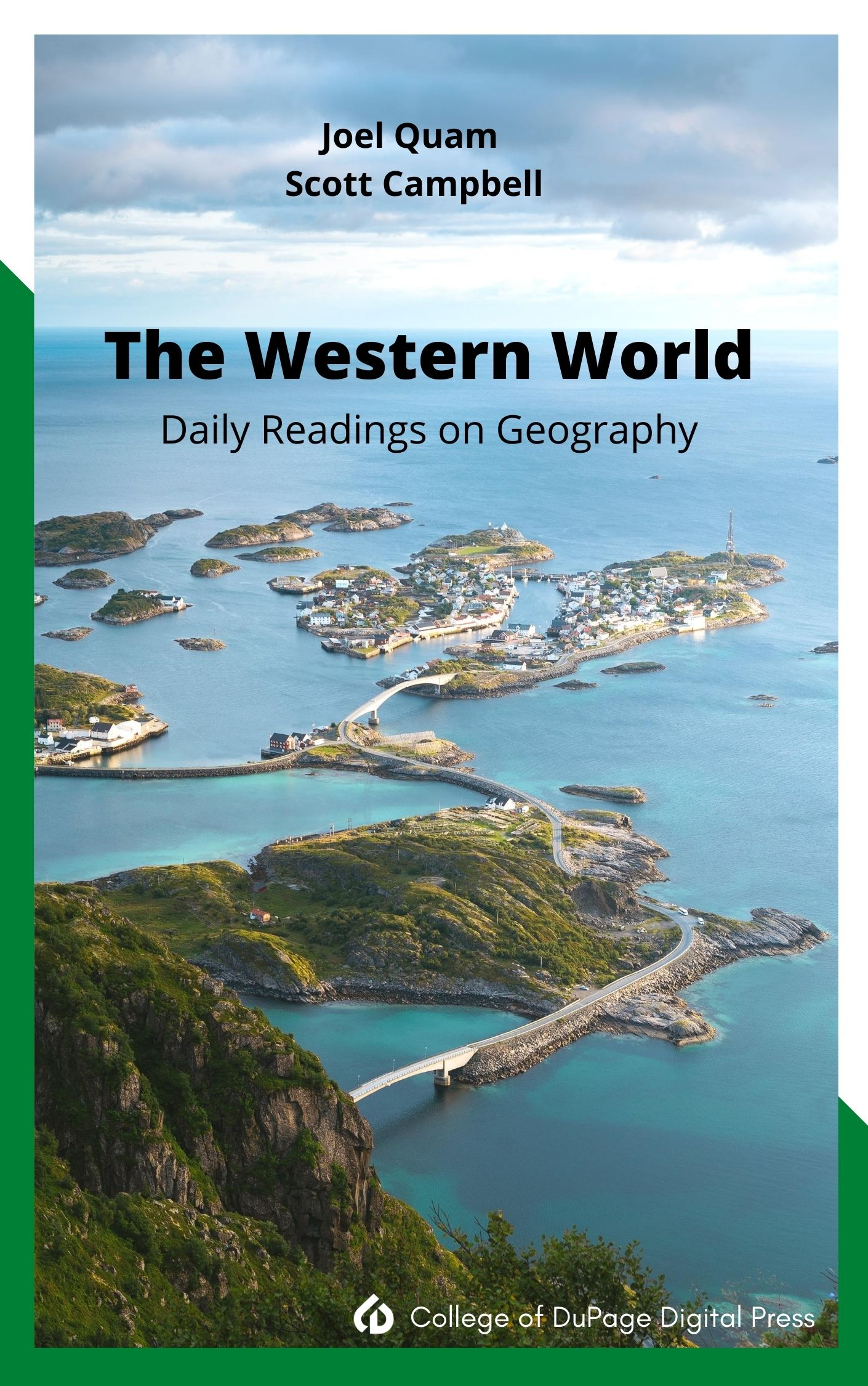 Cover image for The Western World: Daily Readings on Geography